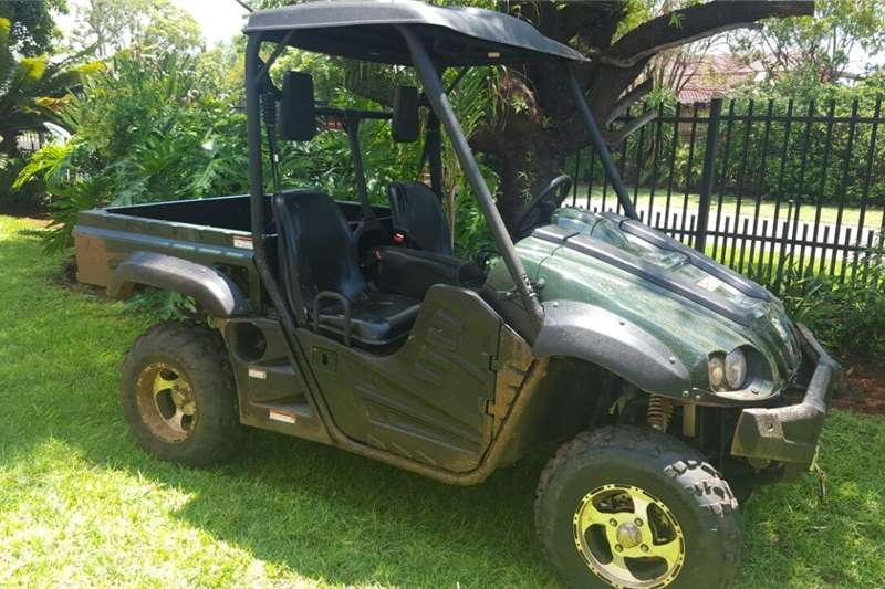 ATV's Four wheel drive Hisun 700 side x side quad 2017