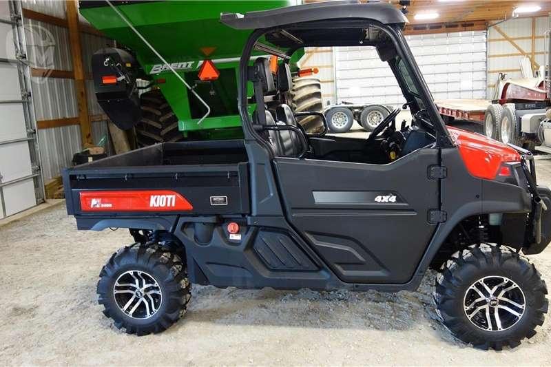 Four wheel drive Landowners Kioti K9 ATVs