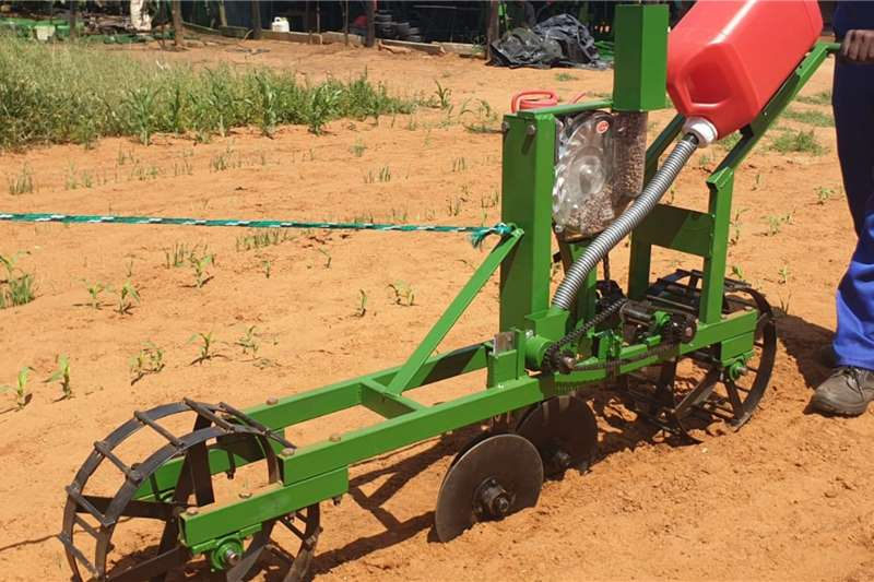 Backsaver Row planters Planting and seeding equipment