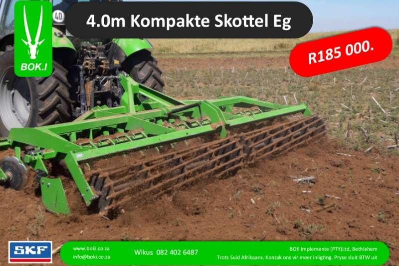 Bok.I Cultivators Harrows 4.0m Kompakte Hoë Spoed Sny Eë 2019