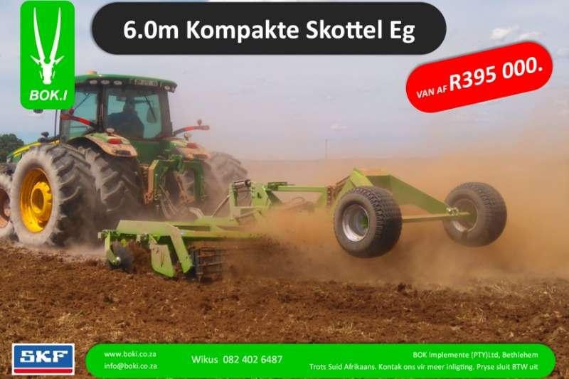 Bok.I Cultivators Harrows 6.0m Kompakte Hoë Spoed Sny Eë 2019