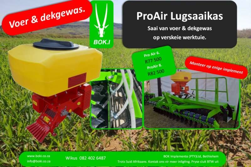 Bok.I Planting and seeding Other planting and seeding Pro Air  Seeders 2019