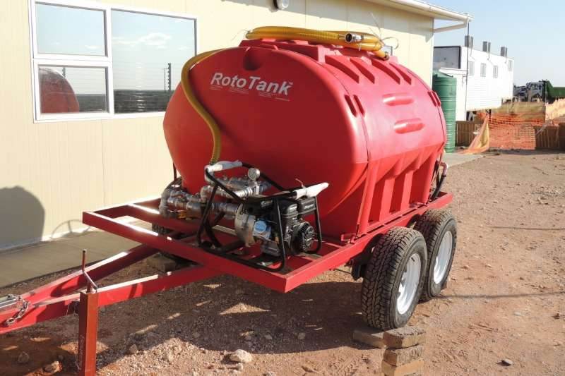 Bosvreter Agricultural trailers Water tankers 1000L Mobiele Eenheid Vuurvegter