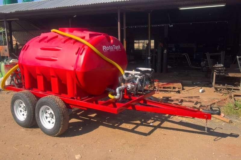 Bosvreter Agricultural trailers Water tankers 2500L Mobiele Eenheid Vuurvegter