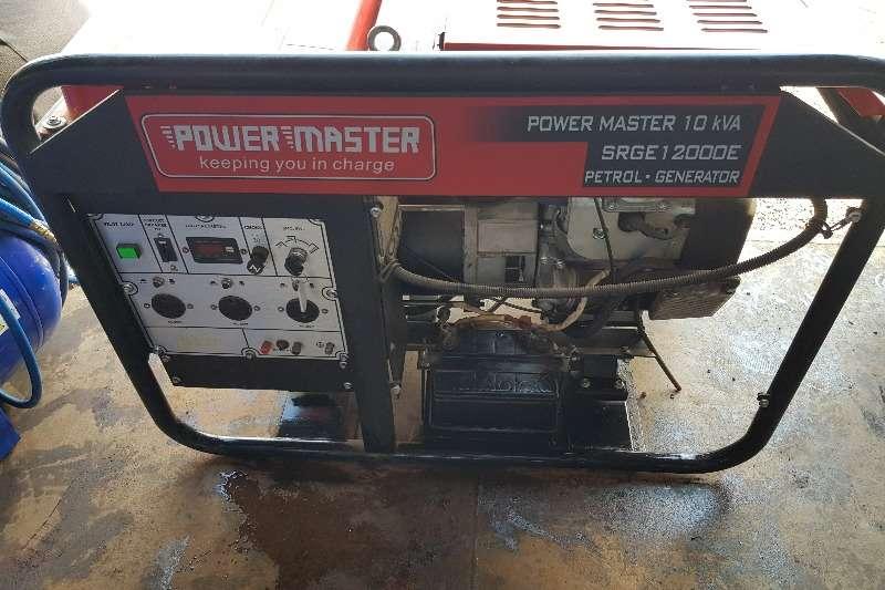 Bundu Power Generator Petrol generator 10Kva Powermaster 2019
