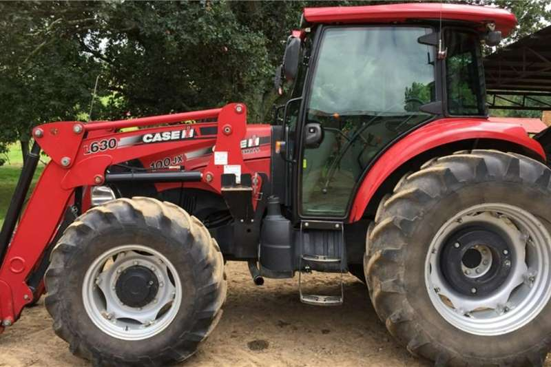 Case 2014 Case JX100 Farmall 74kw with Loader Tractors