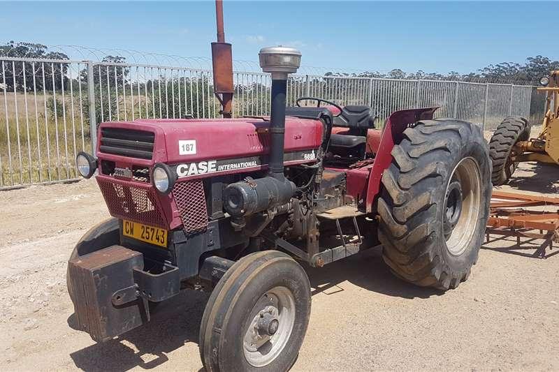 Case Tractors 2WD tractors CASE IH 685A 1992