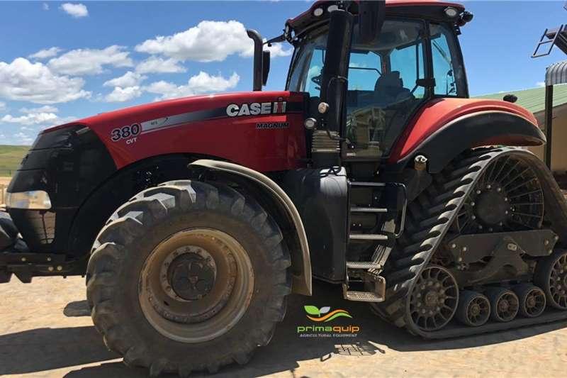 Case Tractors 4WD tractors Case IH Magnum 380 RowTrac 2018