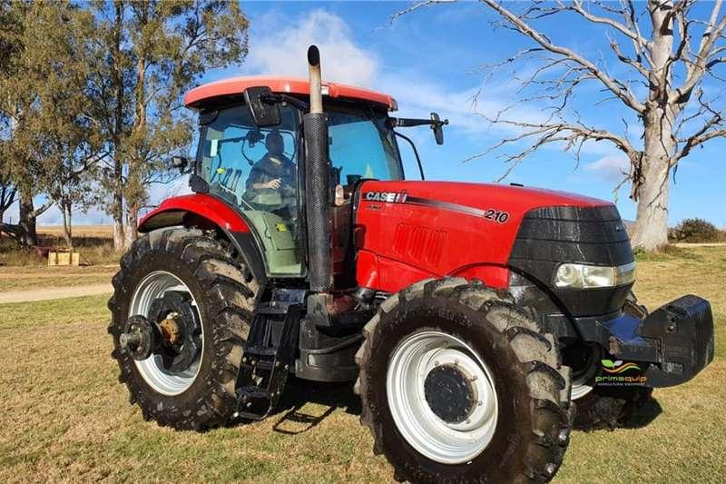 Case Tractors 4WD tractors Case Puma 210 2016