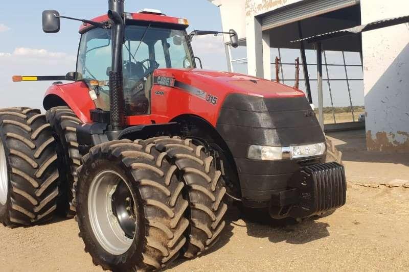 Case Tractors Case Magnum 315 4wd Tractor 2012