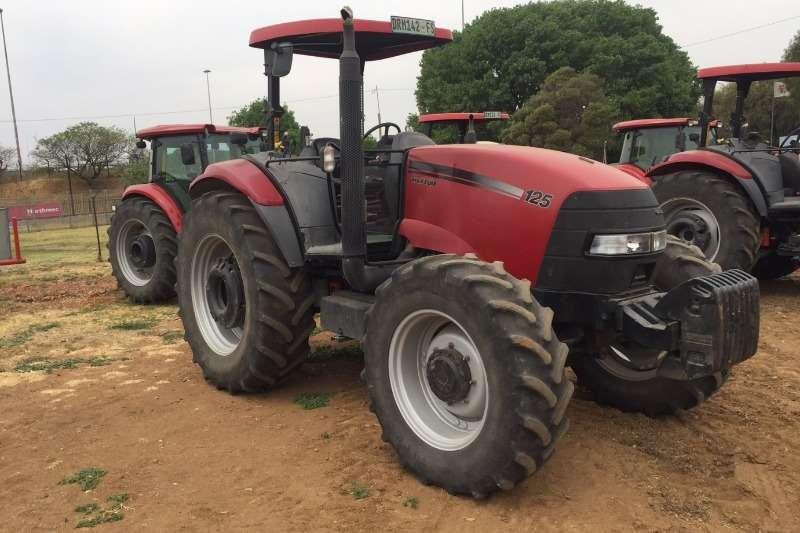 Case Tractors Case Max125 4wd Tractor 2009