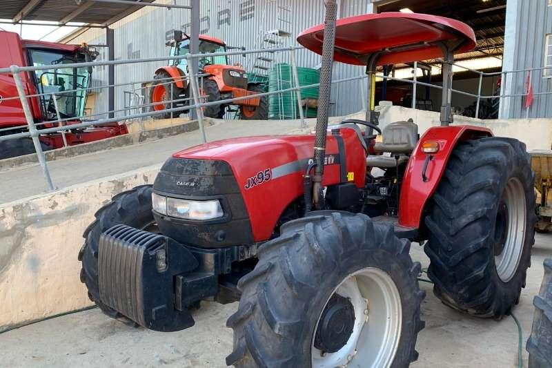 Case Tractors Caseih Jx95 4wd Tractor 2011