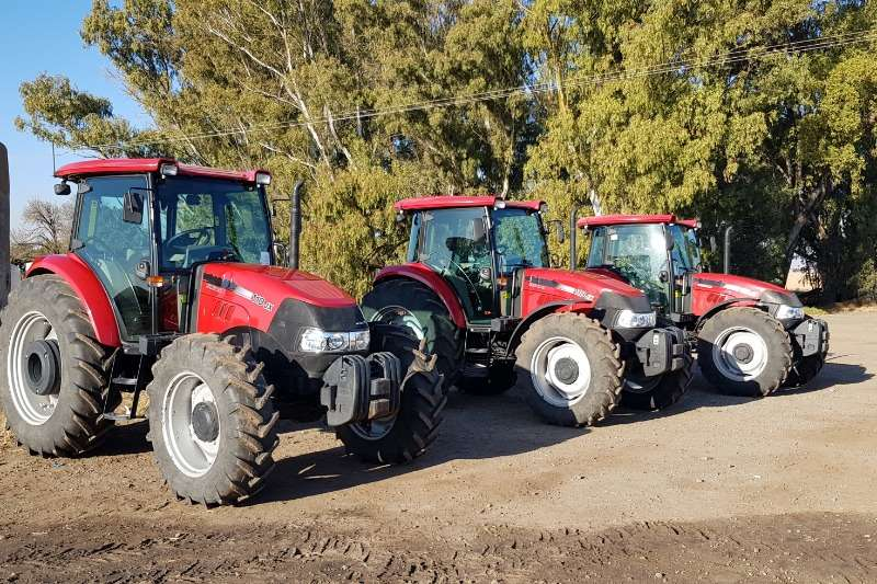 Case Tractors Four Wheel Drive Tractors Case JX 110 Cab 2014