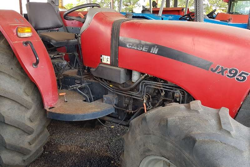 Case Tractors Four wheel drive tractors Case JX 95 with papers 2007