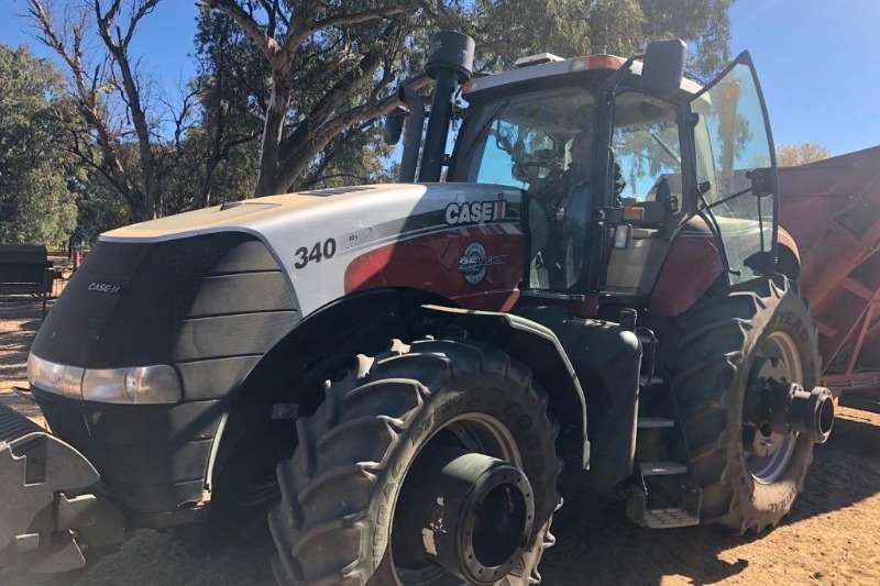Case Tractors Four wheel drive tractors Case Magnum 340 2013