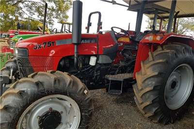 Case Four wheel drive tractors JX75T with papers and new tyres Tractors