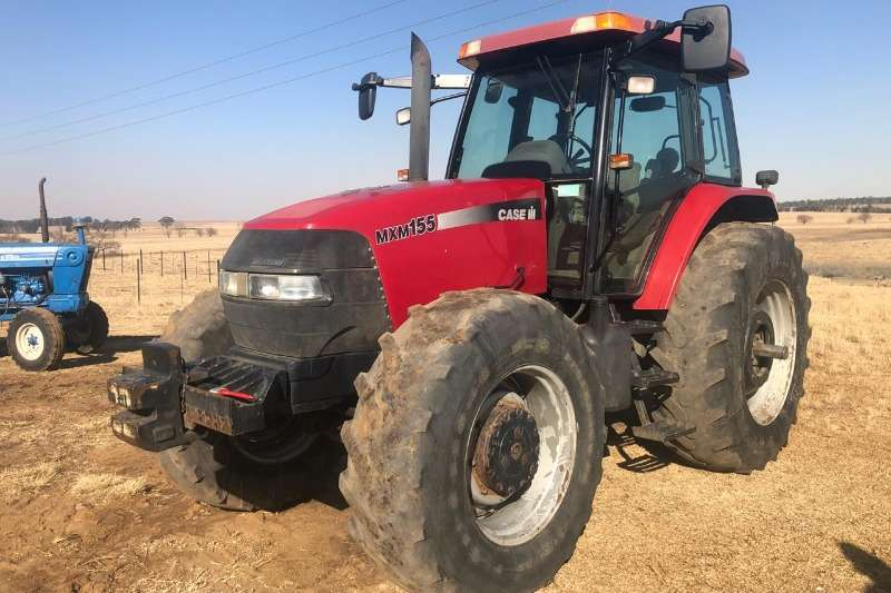 Case Tractors Four Wheel Drive Tractors MXM155 2004