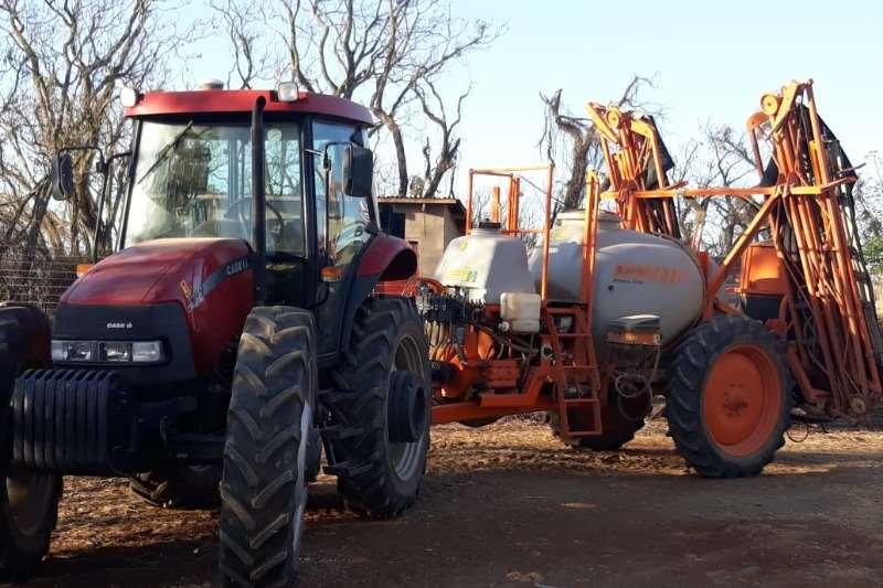 Case Tractors Grape harvesters CASE JX95 CAB HC   4WD 2014