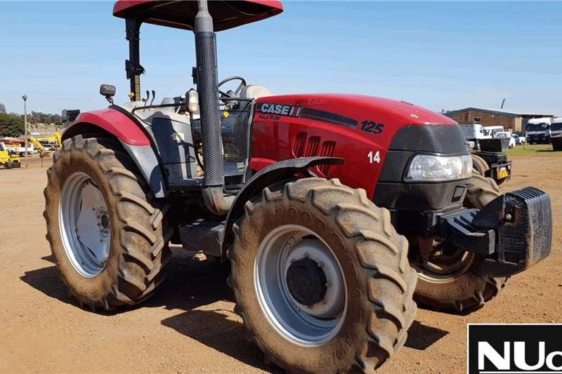 Case Tractors MAXXUM 125 TRACTOR