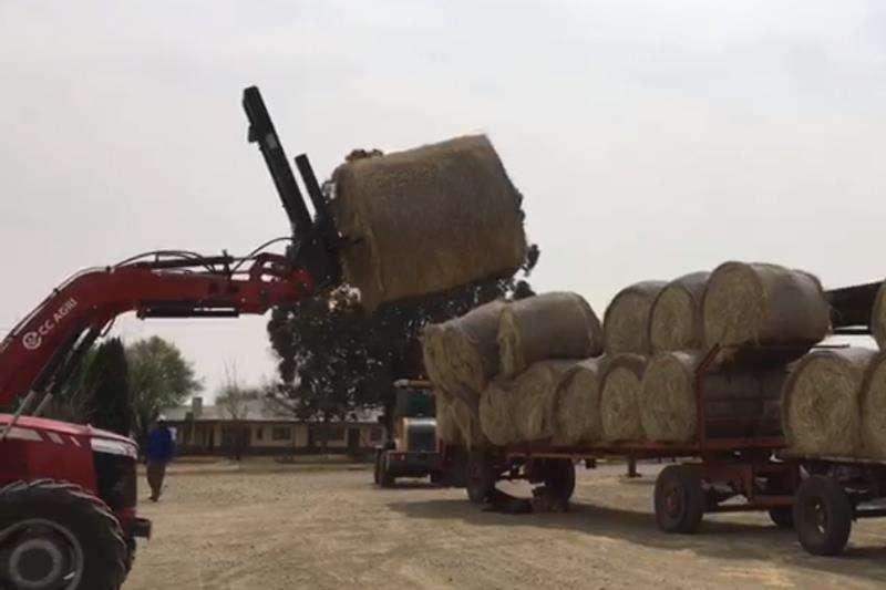 CC Agri Front end loader Farming CC Agri Baalvurk 2019