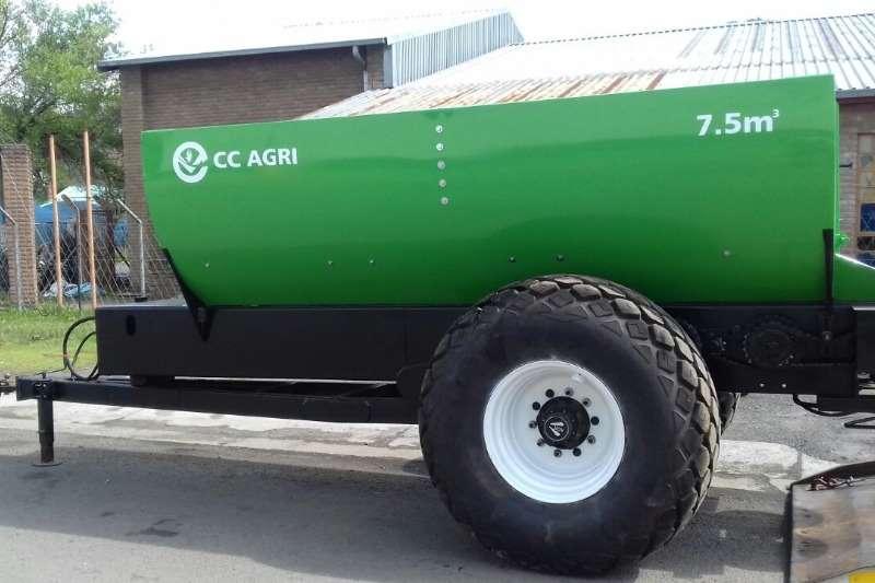 CC Agri Spreaders CC Agri Kalk en Kunsmis Strooier 2019
