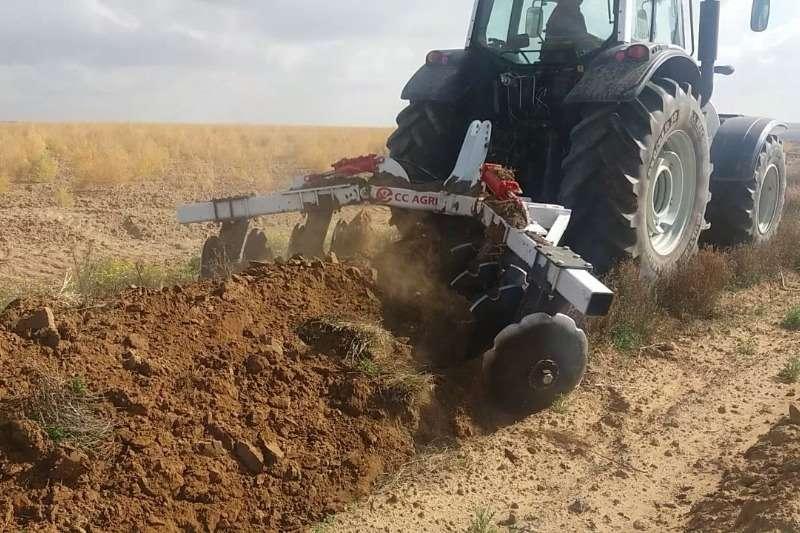 CC Agri Ploughs CC Agri Kontoer Ploeg/Contour Plough Tillage equipment