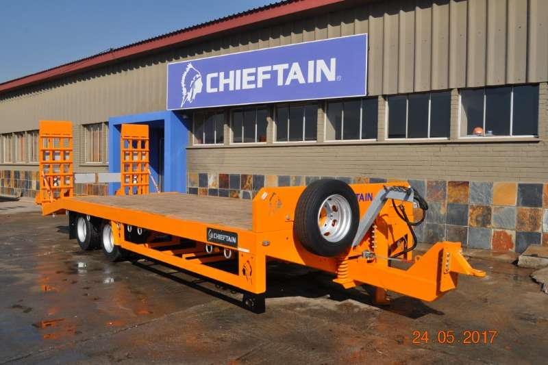 Chieftain New 2 Axle Agri Drawbar Low Speed Agricultural trailers