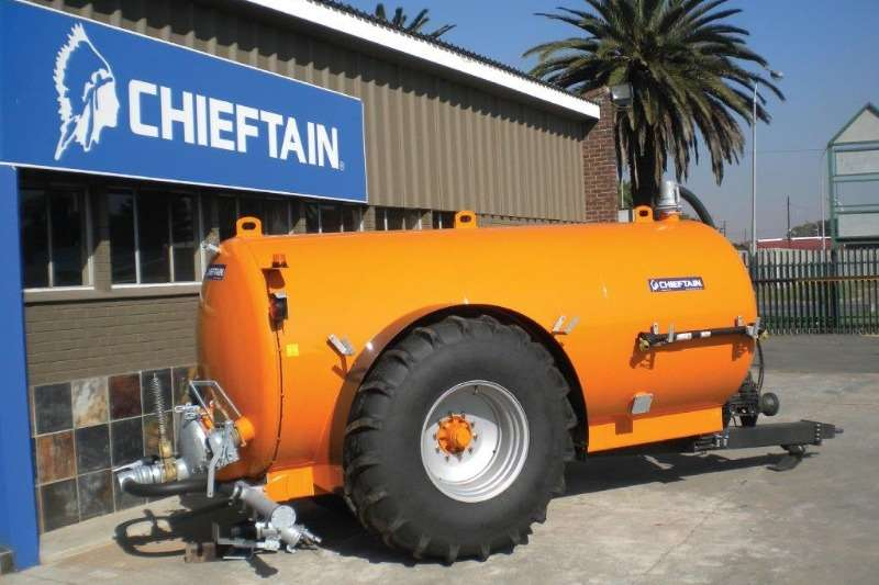 Chieftain Water bowsers New 11000 L Water/Slurry/Dust Suppression Tanker Agricultural trailers