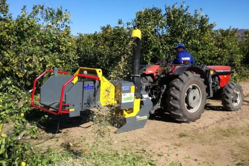 Chippers Disc chippers TS Industries WS 15PTO Disc Chipper 2019