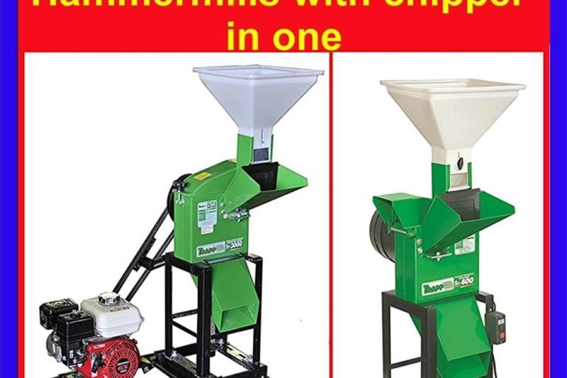 Wood chippers Ritlee TRF Chipper Grinder and Hammermill Chippers