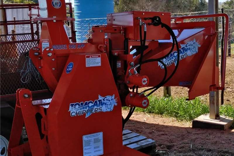 Chippers Wood chippers Tomcat Wood Chipper Model 150 AFP 2019