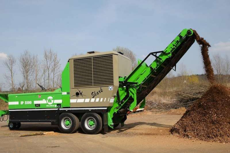 Chippers Wood chippers Willibald Biomass Chipper  EP 550 Shark 2019