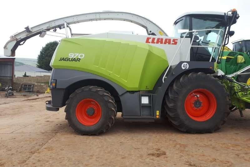 Claas Combine harvesters and harvesting equipment Forage harvesters Claas Jaguar 970 + Orbis 750 2014