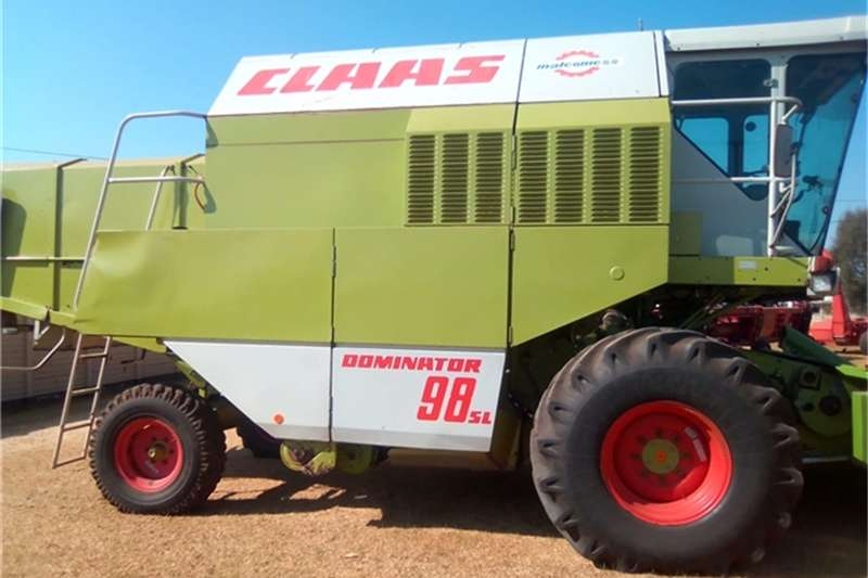 Claas Combine harvesters and harvesting equipment