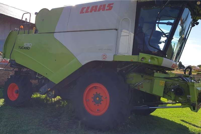 Claas Harvesting equipment 2017 claas 570 tucano 1500 engine