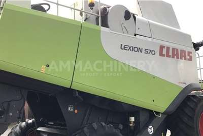 Claas Forage harvesters Claas Lexion 570 Harvesting equipment
