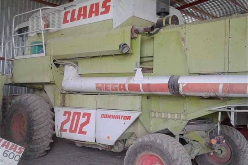 Claas Harvesting Equipment