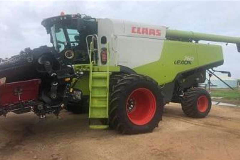 Claas Lexion 760 stroper Harvesting equipment