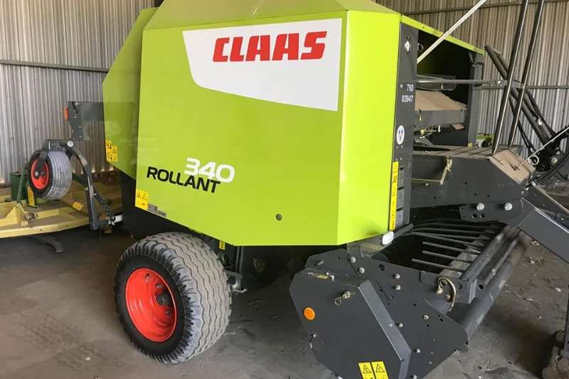 Claas Hay and forage Balers Rollant 340