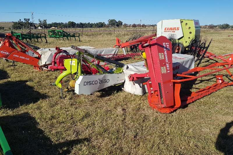 Claas Haymaking and silage Disc mowers 2x Claas 2650 6 tol,Kuhn,Lely,Staalmeester Elho