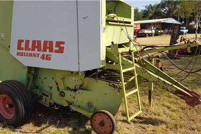 Claas Round balers 46 Haymaking and silage