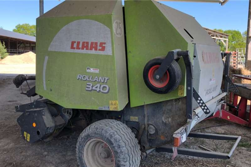 Claas Round balers Claas 340 Baler Twine Only Haymaking and silage