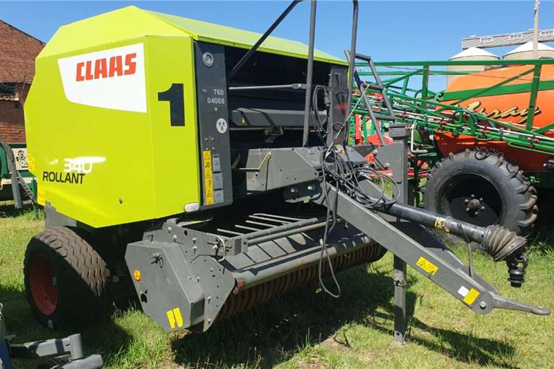 Claas Round balers claas rollant 340 N&T 2017 model Haymaking and silage