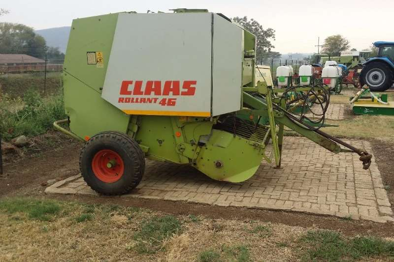 Claas Round balers Claas Rollant 46 Baler Haymaking and silage
