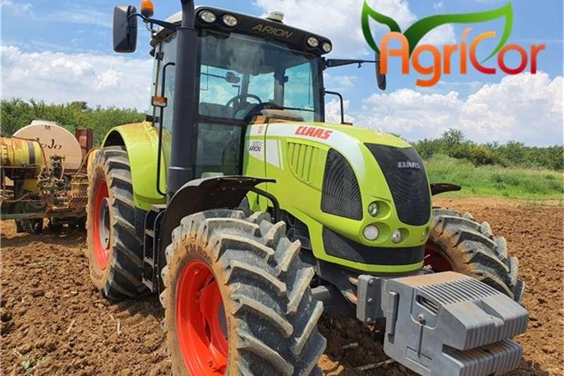 Claas Tractors 2018