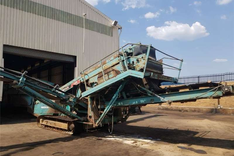 Construction Chieftain 1400 d/deck Screen 2007