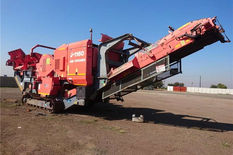 Construction TEREX FINLAY J 1160 JAW CRUSHER 2008