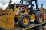 Construction Yellow Catterpillar 428B 4x4 Pre-Owned TLB