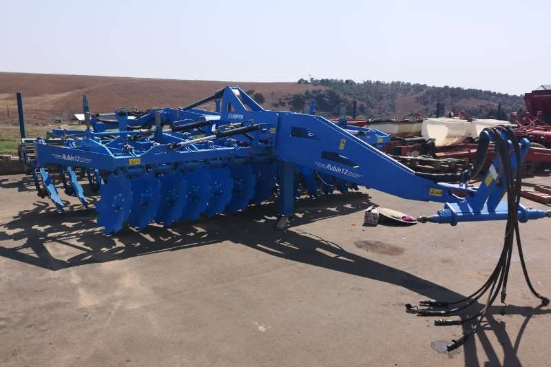 Cultivators Harrows Lemken Rubin 12/500