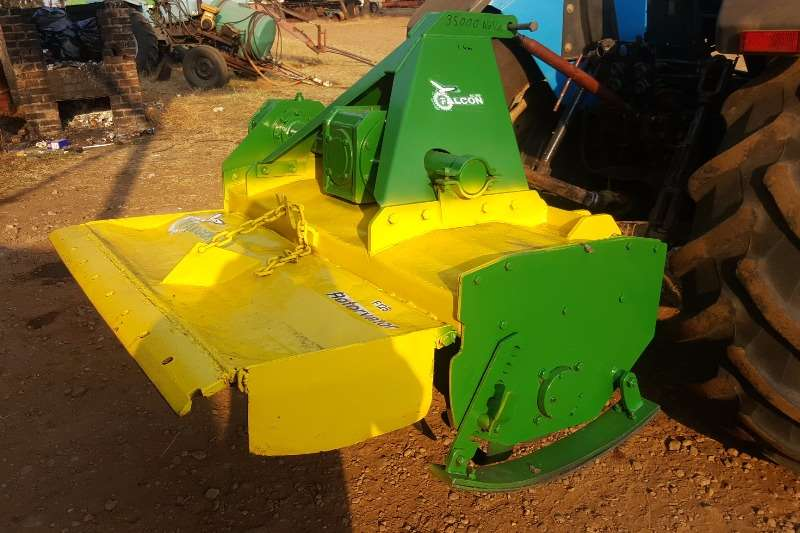 Cultivators Rotary Cultivators Falcon 1.2m Rotorvator with new blades